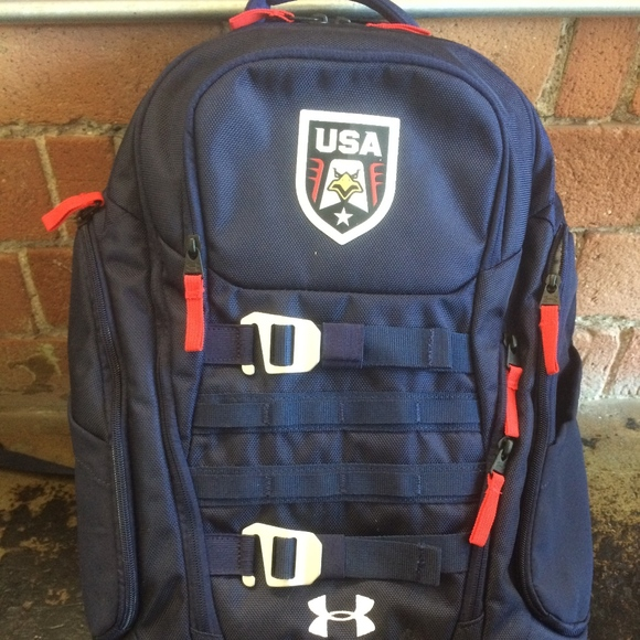 3b87dca7968a Team USA Under Armour Backpack. M 5b85836012cd4a18a79845ad
